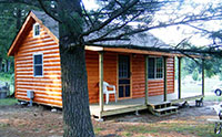 Resting Fawn cabin on the Black River