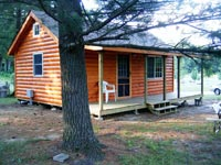 Accommodations at Lost Falls Campground
